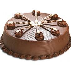 Brounie truffle cake
